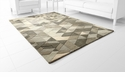 Facets Sage GreenRug Polyester 7.6'x5' by Cyan Design