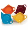 Festival Colors Assorted Tea Bag Holders (4) by Hues and Brews