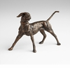 Fetching Dog Bronzed Iron Sculpture by Cyan Design