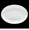 Fortessa Purio China Coupe Oval Platter 13.75 in. (35cm) Set of 4