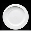 Fortessa Spirale China Plate 10.75 in. (27cm) Set of 4