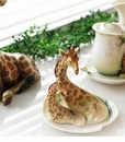 Franz Collection Endless Jungle Beauties Giraffe & Safari Porcelain Collection