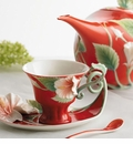 "Franz Collection Hibiscus ""Island Beauty"" Porcelain Collection"