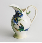 Franz Collection Hummingbird Creamer/Pitcher