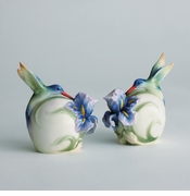 Franz Collection Hummingbird Salt and Pepper
