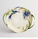 Franz Collection Long Tail Hummingbird & Iris Journey of Happiness Porcelain Collection