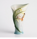 Franz Collection Papillion Butterfly Porcelain Vase