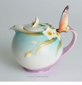 "Franz Collection ""Papillon"" Butterfly Teapot"