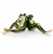 Franz Collection Porcelain Amphibia Frog Lovers Figurine