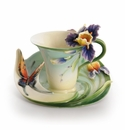 Franz Collection Porcelain Cup & Saucer Sets
