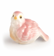 Franz Collection Porcelain Joyful Bird Figurine - Coral