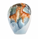 Franz Collection Porcelain Partnership For The Future - Impalas Vase