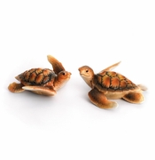 Franz Collection Turtle Bay Porcelain Figurines (2)