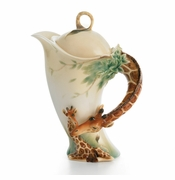 Franz Endless Jungle Beauty Giraffe Teapot