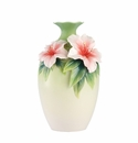 Franz Porcelain Blooms Of Delight - Azalea Vase