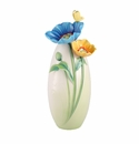 Franz Porcelain Brave New Hopes - Poppy Vase