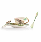 Franz Porcelain Family Fun Elephant Spoon