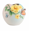 Franz Porcelain Friends For Life - Jasmine Round Vase