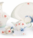 Franz Porcelain Graceful Orchid Collection
