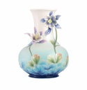 Franz Porcelain Joyful Smile - Columbine Vase