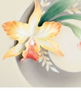 Franz Porcelain Magnificent Cattleya Orchid Collection