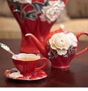 Franz Porcelain Venice Peony Collection