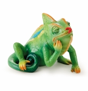 Franz Rain Forest Little Dwellers Chameleon Lizard Figurine