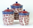 French Market 3 Piece Kitchen Canister Set