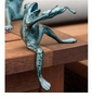 Frog with Violin Sculpture by SPI Home