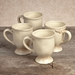 GG Collection Gracious Goods Cream Ceramic Grazia Cups (4)