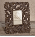GG Collection Gracious Goods Medium Metal Picture Frame, 4 inch x 6 inch