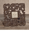 GG Collection Gracious Goods Small Metal Picture Frame, 3 inch x 3 inch