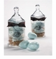 Gianna Rose 6 Robin�s Egg Soaps (Blue) in Standard Apothecary Jar