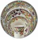 Gien Bagatelle 4 Piece Dinnerware Placesetting