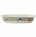Gien Bagatelle Rectangular Baker Large