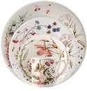 Gien Bouquet Floral 4 Piece Dinnerware Placesetting