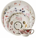 Gien Bouquet Floral 5 Piece Dinnerware Placesetting