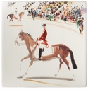 Gien Cavaliers Large Square Candy Tray