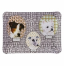 Gien Darling Dog Acrylic Serving Tray Small