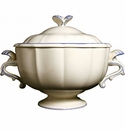 Gien Filet Bleu Soup Tureen