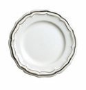 Gien Filet Taupe Canape Plate