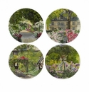 Gien Paris A Giverny Assorted Canape Plates