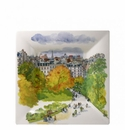 Gien Paris A Giverny Square Candy Tray Extra Large