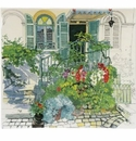 Gien Paris A Giverny Square Plate
