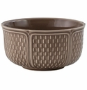 Gien Pont Aux Choux Taupe Extra Large Cereal Bowl