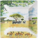Gien Safari Large Square Candy Tray