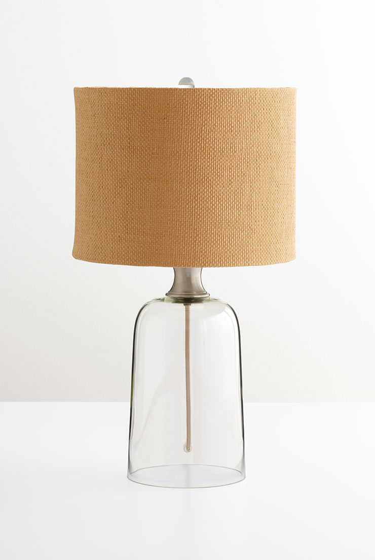 Glass Base Table Lamp By Cyan Design