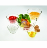 Global Amici 5 Piece Glass Prep Bowl Set