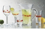 Global Amici Harlequin Martini Glasses (4)