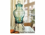 "Global Amici Portofino Lemonade Spigot Jar 16""h"